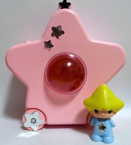 ピンクバージョン星のおうちと青ボディキラキラちゃん/昭和レトロこえだちゃん