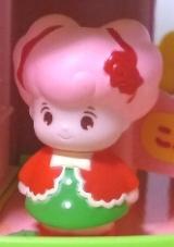 平成初期ソフビ製ピンクこえだちゃん