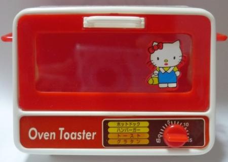 ままごと屋台のオーブントースター