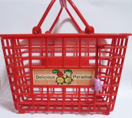 縁日屋台のままごと道具/ままごと食品詰め合わせ用のかご
