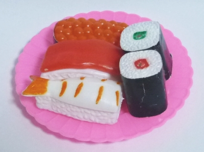 屋台のままごと道具/ミニお寿司セット